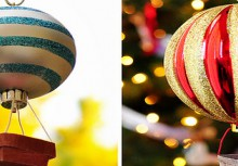 how to: hot air balloon ornament