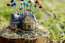 how-to: up house pincushion