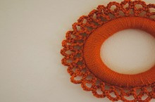 how-to: crochet wreath