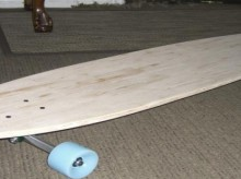 how-to: longboard deck from popsicle sticks