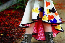 how-to: fishtail circle skirt