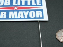 miniature political yard signs