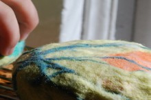 how-to: make felted soap