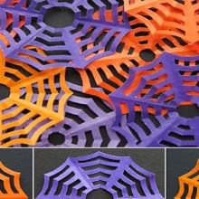 how-to: spiderweb kirigami