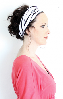 how-to: t-shirt turban headband