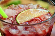 how-to: homemade cherry limeade