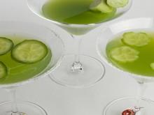 recipe: cucumber martinis