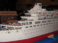 the love boat … in lego