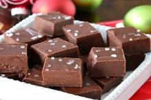 recipe: chocolate nutella and sea salt fudge