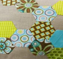 how-to: hexagon pillow