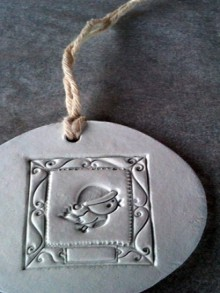 make: clay tags