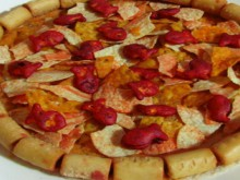 how-to: pizza-flavored pizza from pizza-flavored snacks