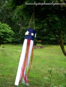 how-to: tin can flag windsock