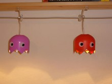 how-to: pac man ghost lights