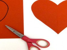 project: sewing kit valentines card