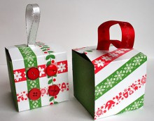 recycled ornament boxes