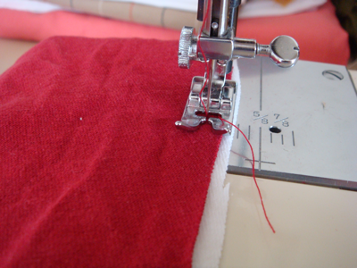 sew the panels