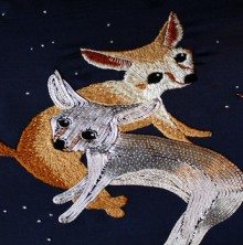 silver fox embroidery