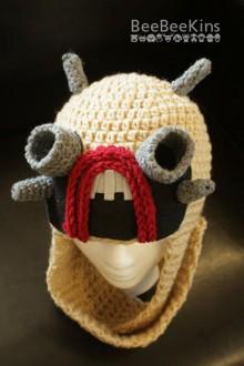 crochet tusken raider hat