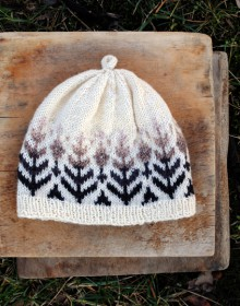 how-to: fair isle knit hat
