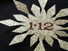 snowflake boutonnieres