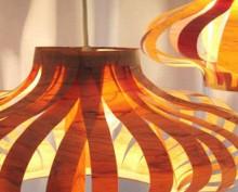 how-to: veneer pendant lights