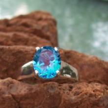 hand setting genuine gemstone jewelry