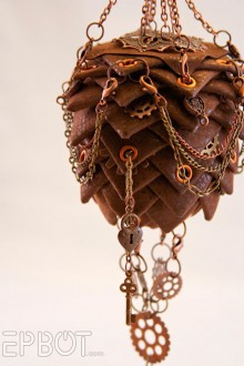 beautiful steampunk ornament