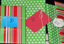 how-to: simple book advent calendar
