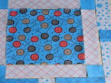quilting 101: a simple patchwork block