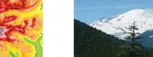 inspiration: cascade volcano elevation maps