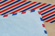 air mail sticky tape