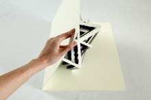 oversized pop-up book sculptures