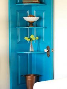 how-to: door corner shelf