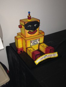 michigan-made robot cake