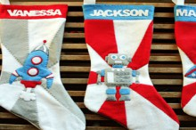 how-to: retro-style space-themed stockings