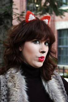 how-to: knitted fox ears