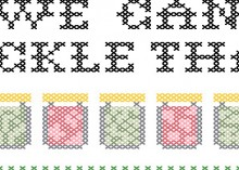portlandia cross-stitch pattern from subversive cross stitch