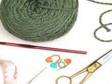 crochet 101: chain stitch, single, and double crochet