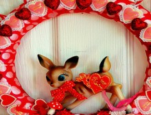 how-to: kitschy valentine wreath