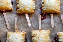 recipe: baked brie bites on a stick