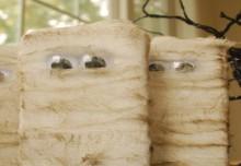 how-to: easy halloween mummy