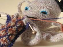 knitting knit octopus