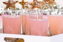how to: make sparkle star drink stirrers