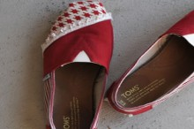 how-to: toms shoes makeover