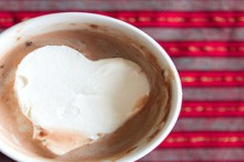how-to: cool whip ice cubes for hot cocoa