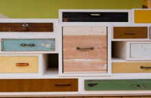 beautiful furniture from random drawers