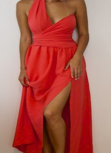 how-to: wrapped bodice dress