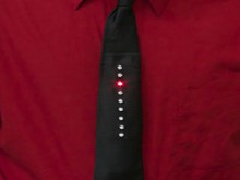 how-to: kraftwerk-style led tie