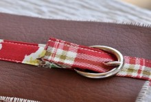 how-to: boys wallet with buckle